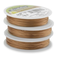Bead Stringing - Wire & Elastic