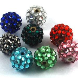 Shamballa Crystal Beads