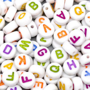 Alphabet, Word & Number Charms