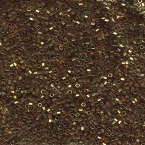 dbc0115 size 11 0 trans lustre metallic rose gold deborah beads. Black Bedroom Furniture Sets. Home Design Ideas